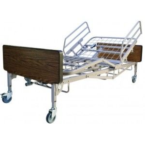 Bariatric Bed W Half Rail And Mattress Replaces The Abl B600