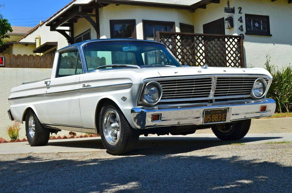 1965 ford ranchero 289 60 s classics pinterest ford ford trucks and cars