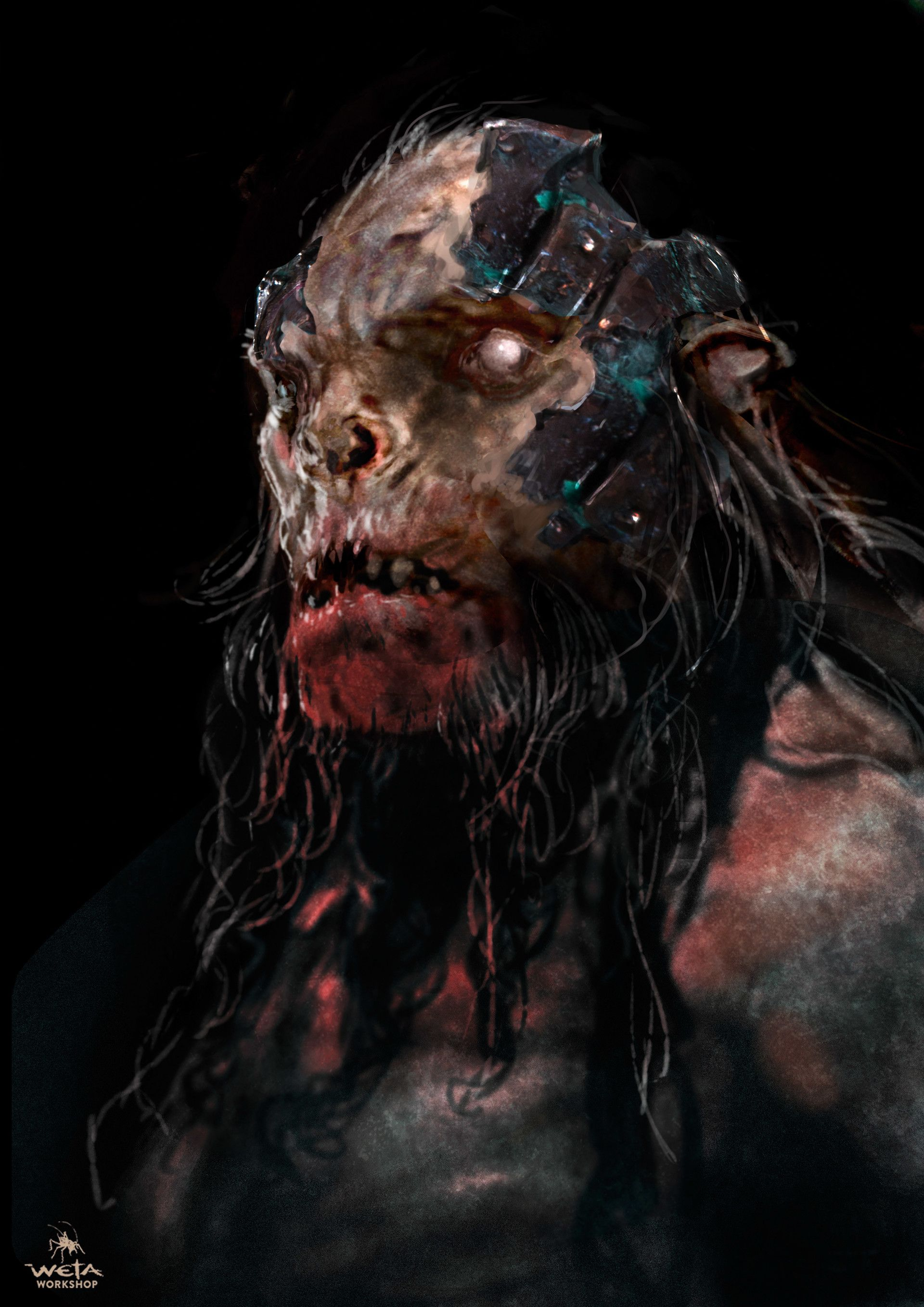 ArtStation - The Hobbit - Battle of Five Armies Hero Orcs, WETA WORKSHOP DESIGN STUDIO