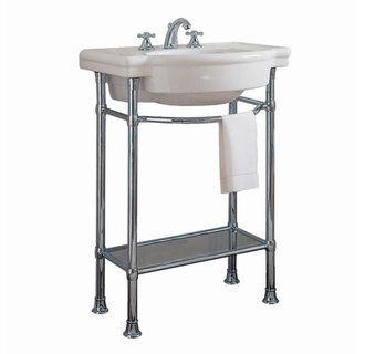 American Standard 0282 008 Retrospect 27 Fireclay Pedestal Sink