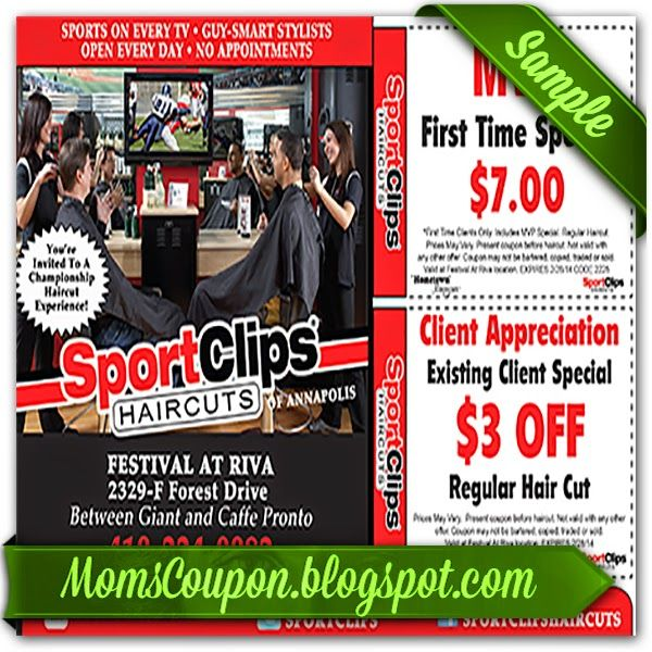 This is an image of Comprehensive Sports Clips Free Haircut Printable Coupon