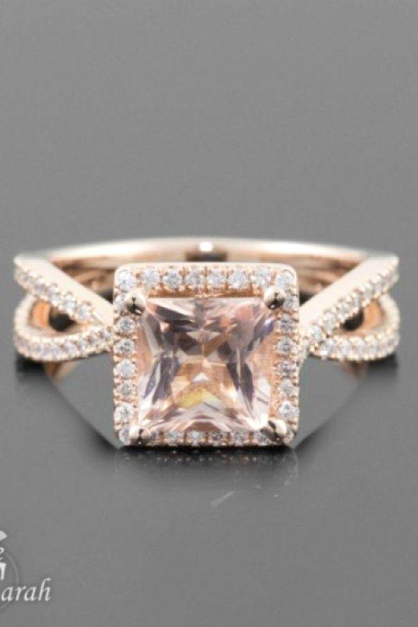 Princess Engagement Rings Design No. 11909 | Easy Diamond Engagement ...