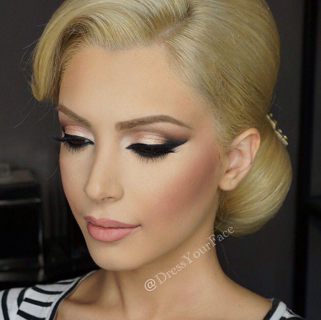 Lovely Bridal Look Make Up Hairstyles Web Www Elstile Ru: Pin By Juju Elhussen On Makeup