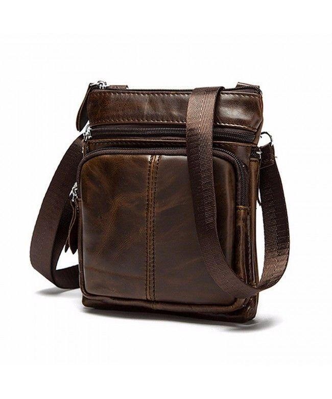 Casual Men Vintage Shoulder Bag Messenger Crossbody Bags Handbag - Coffee -  CL12OBJDWKM  Bags  handbags  gifts  Style  Briefcases 6d702e7bb2d84