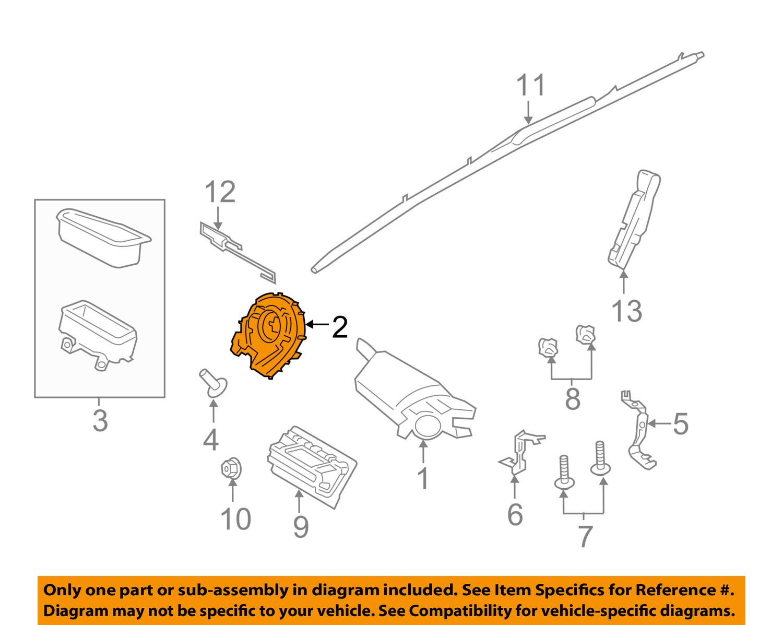 Car Clock Spring Diagram Trusted Wiring Diagrams 2011 Caravan Ford 12 16 Focus Airbag Air Bag Clockspring Cv6z14a664a Grandfather Pendulum