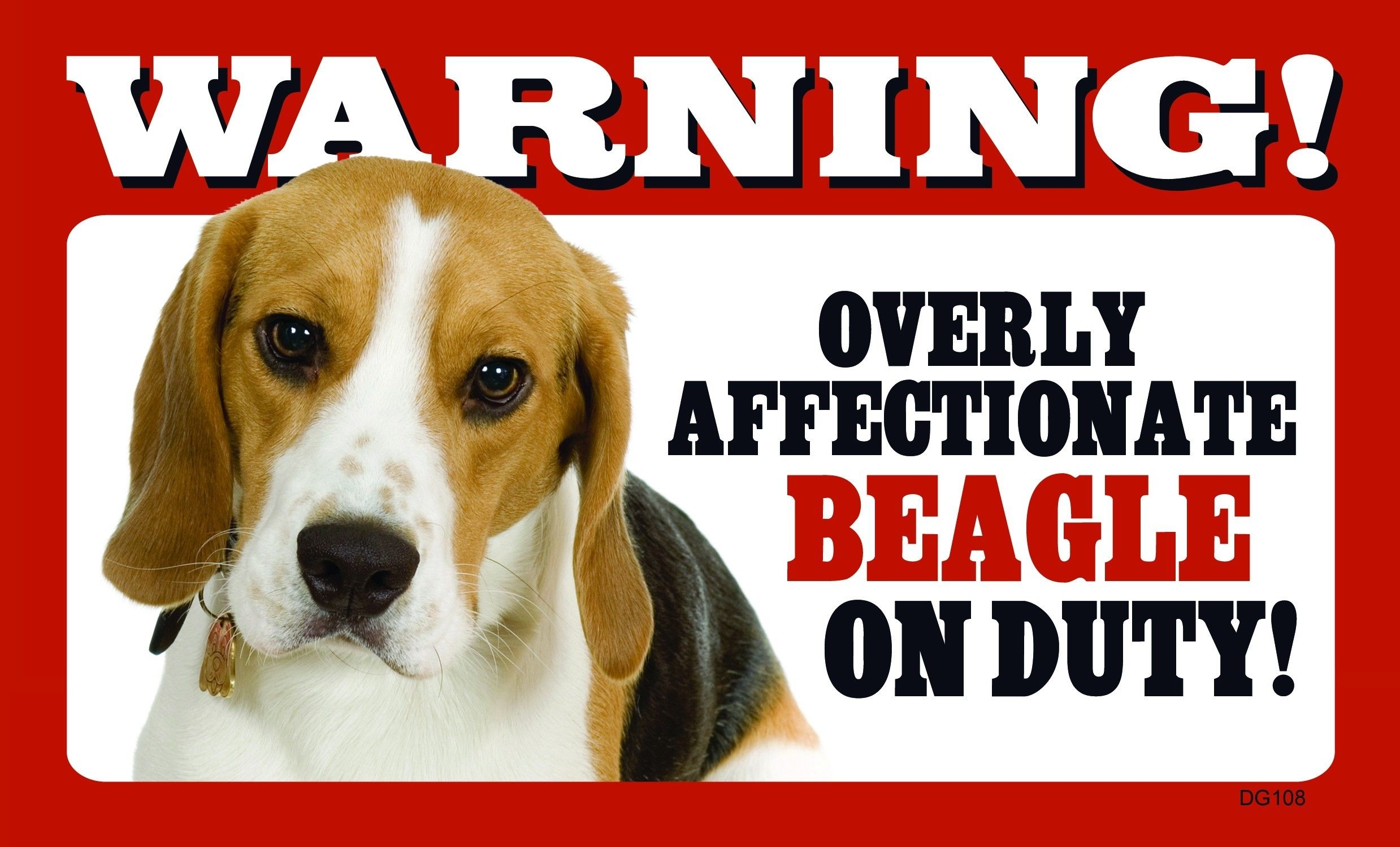 tehe, I got this for Daniel. ) Beagle, Wall signs