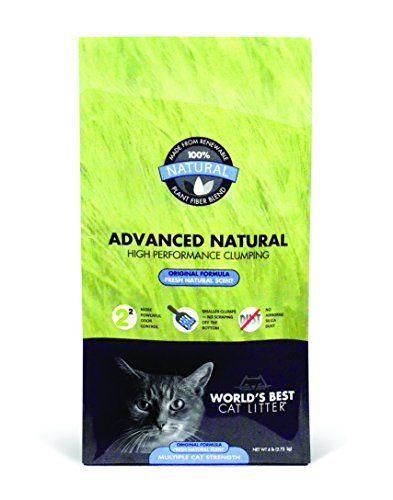 World S Best Cat Litter Advanced Naturals Original Formula Multi Cat Litter 6 Pound Bag By World S Best Cat Litter Click On Th Best Cat Litter Natural Cat Litter Clumping Cat Litter