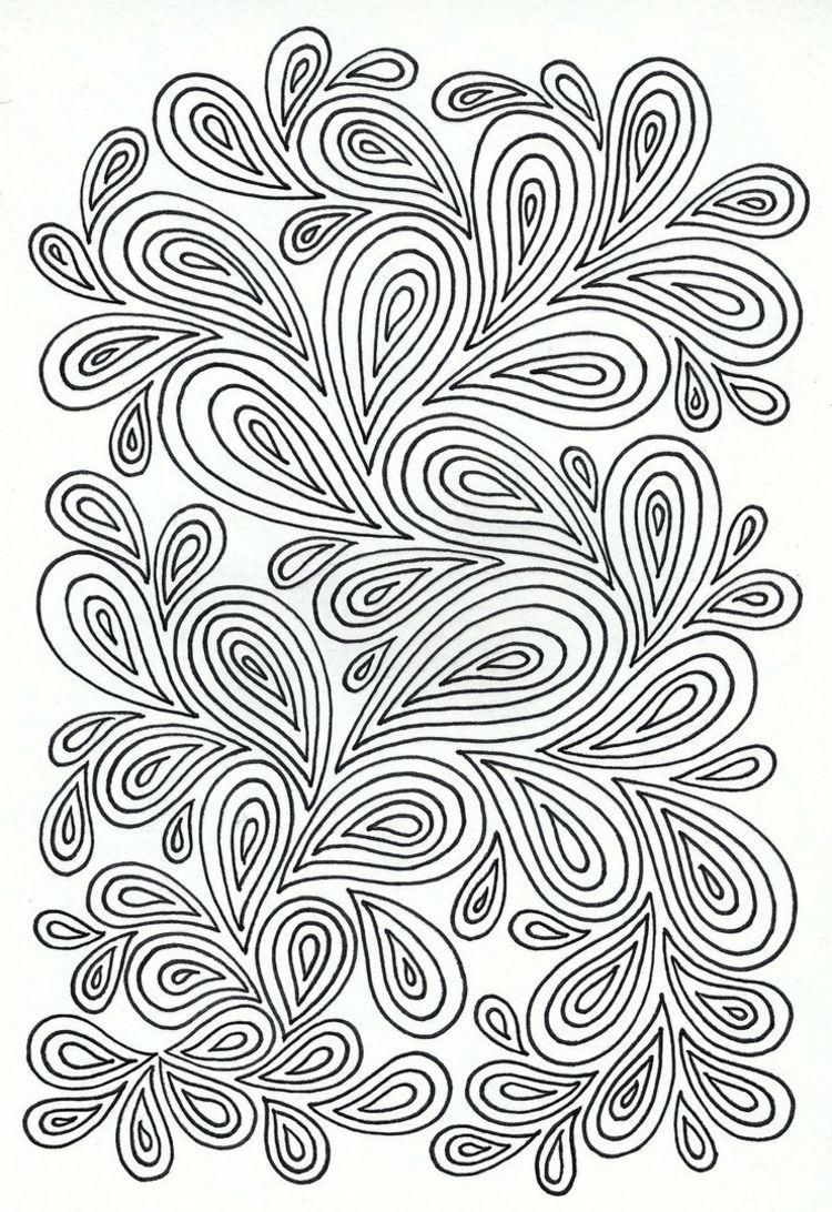 Ideen Fur Zentangle Muster Gestaltet In Tropfen 0