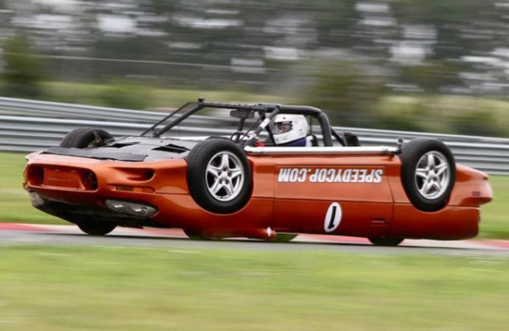 2015 Upside Down Race Car Investing Media Blog Racing Car Lemons Racing