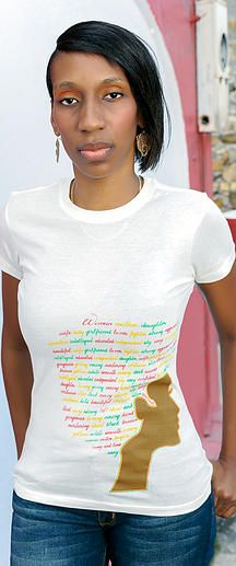 Definition of a Woman - All ladies represent & be true to yourself with this descriptive tee that characterizes definitions of a woman #defineyourself #woman #virginislands #honeynlime