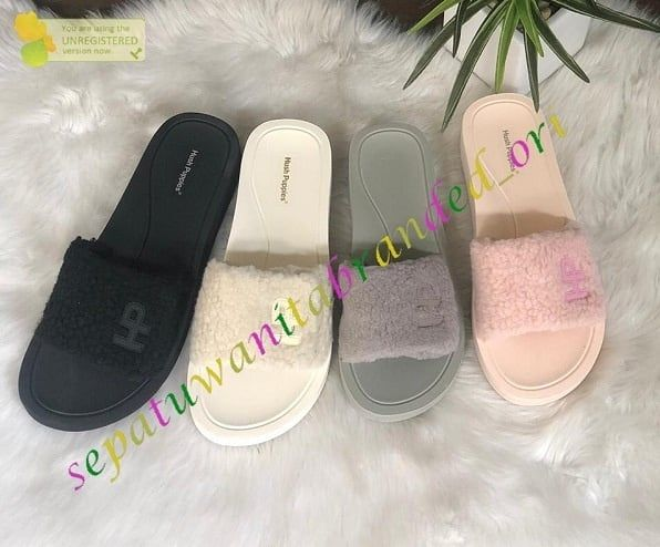Sandal Wanita Hush Puppies New Harga 400 Rb Sale To 280 Rb Seri