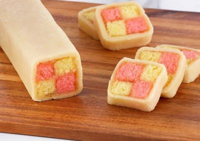 Pin by belkis hernandez on cookies pinterest anna olson asian try this battenberg cake recipe by chef anna olson this recipe is from the show bake with anna forumfinder Gallery