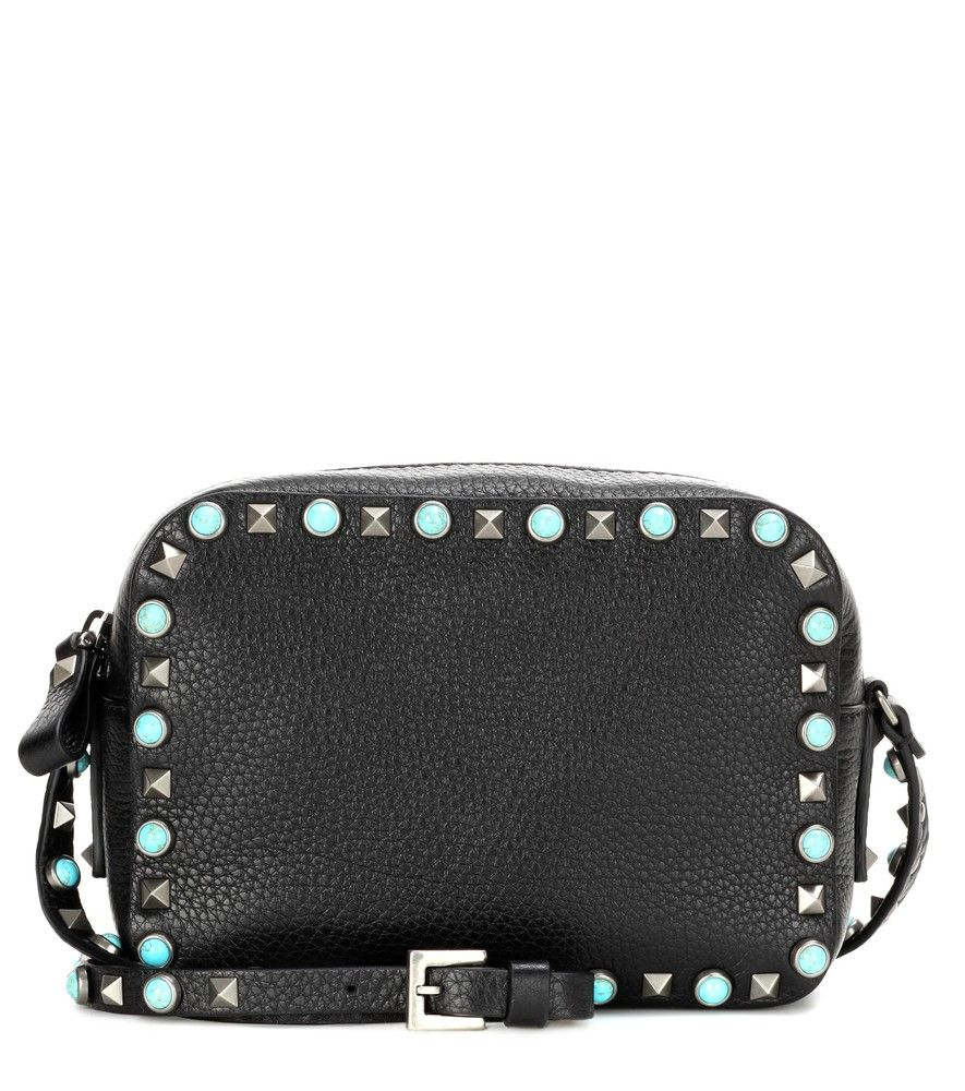 e8b38e01dabb Discover ideas about Lambskin Leather. February 2019. Valentino Rockstud Mini  Crossbody Bag Leather Poudre at FORZIERI Australia