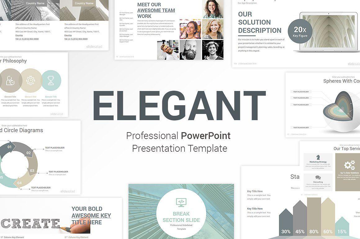 Elegant Powerpoint Template Pack Presentation Templates