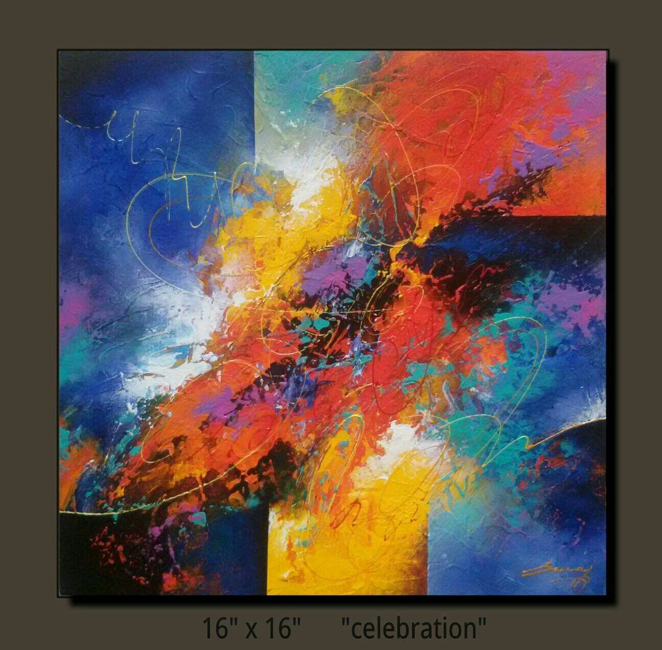 Pin by marianne lehman on suraj fine arts pinterest for Abstract watercolor painting tutorial