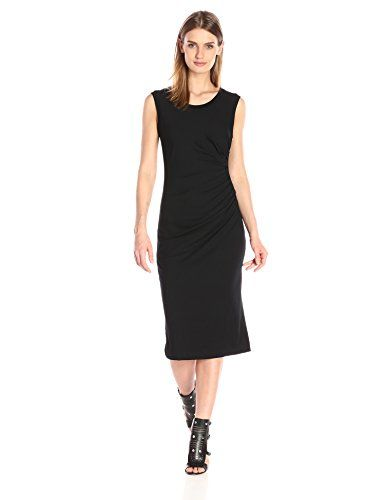 Nicole Miller Women's Solid Jersey Dress  Demi length jersey dress features drape detailing at the hip Banded neck and arm holes Banded neck and arm holes Unlined  http://www.artydress.com/nicole-miller-womens-solid-jersey-dress/