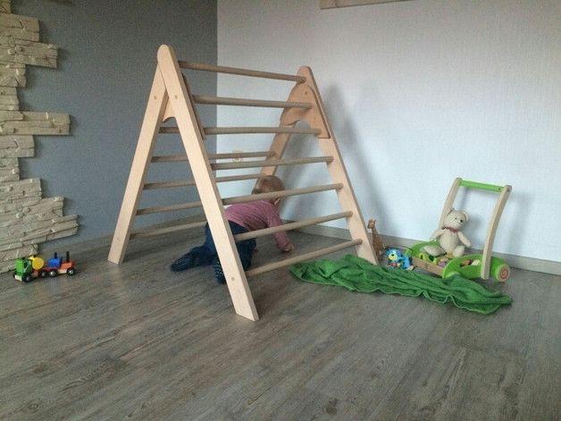 Kletter Dreieck Baby : Holzspielzeug kletterdreieck nach art pikler !!!extragroß!!! ein
