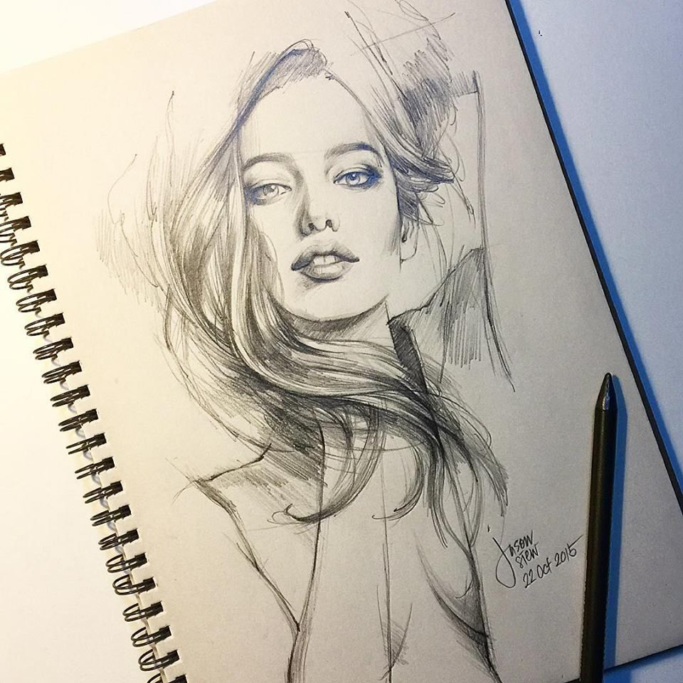 Art drawing ideas love drawing realistic portraits great heres one of the best face sketches to inspire your own art artdrawingideas facesketches