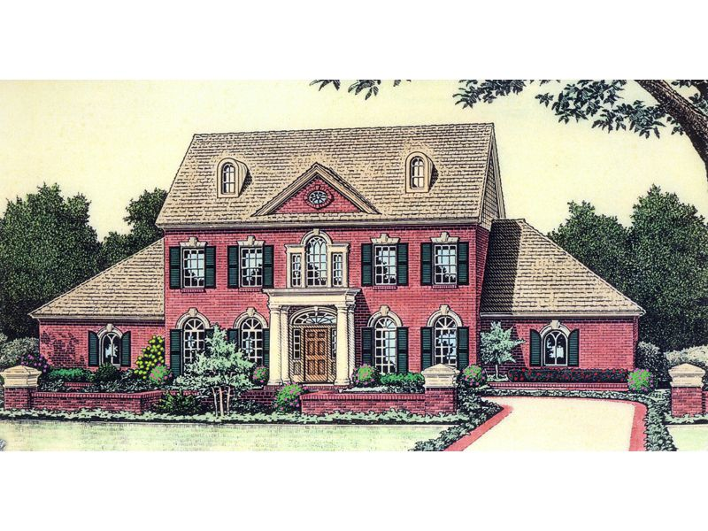 Carson Early American Home Early American Homes Early American American Home Design