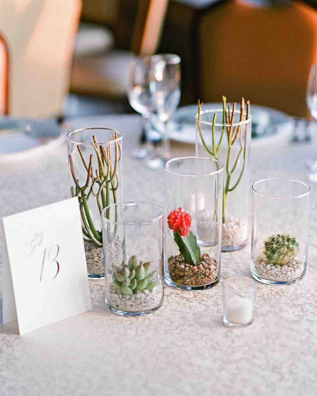 cacti centerpieces | Event Inspiration | Pinterest | Rustic chic ...