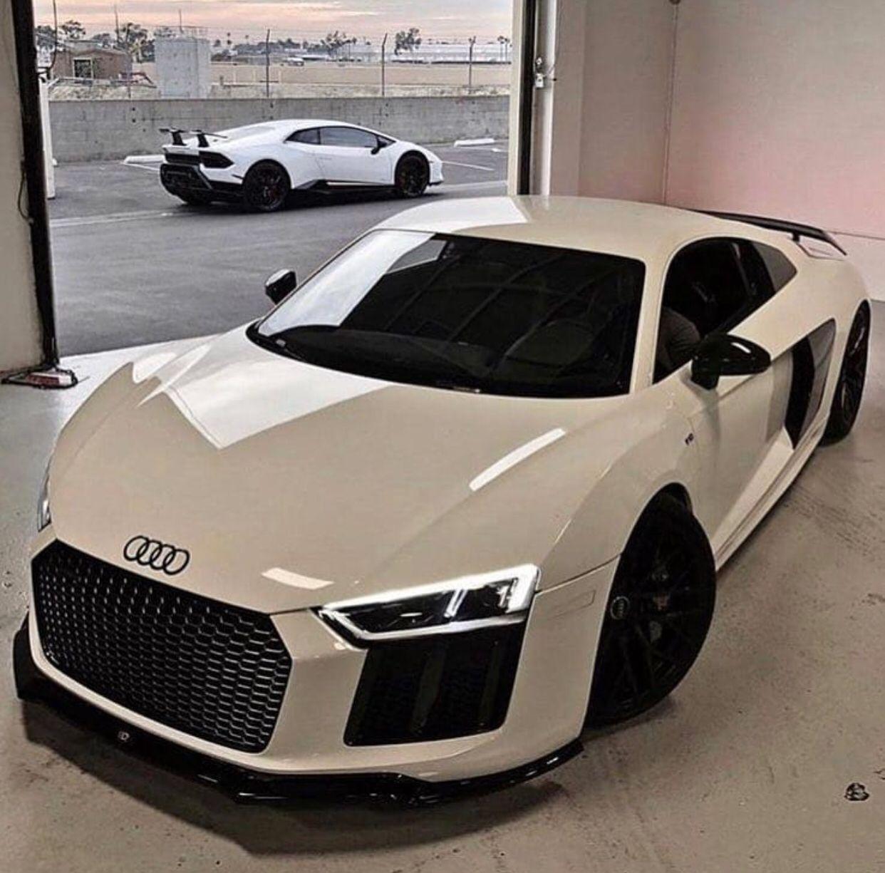 Audi r8 #luxurycars