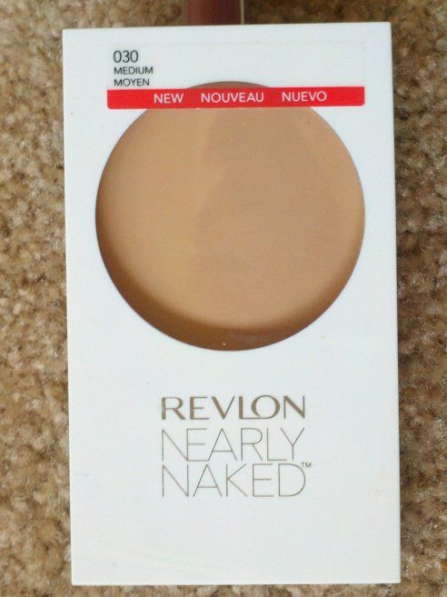 #Revlon #NearlyNaked #PressedPowder #Review #price and details on the blog