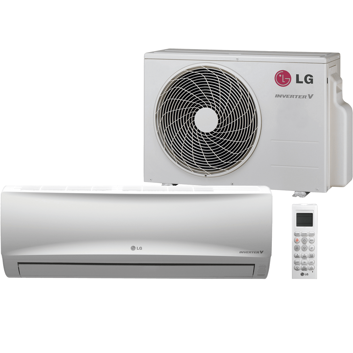 9 000 Btu Lg 19 Seer Mega Wall Mounted Value Line Heat Pump Heat Pump System Wall Air Conditioner