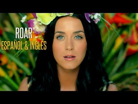 Roar Katy Perry Official Video Letra Espanol English Top