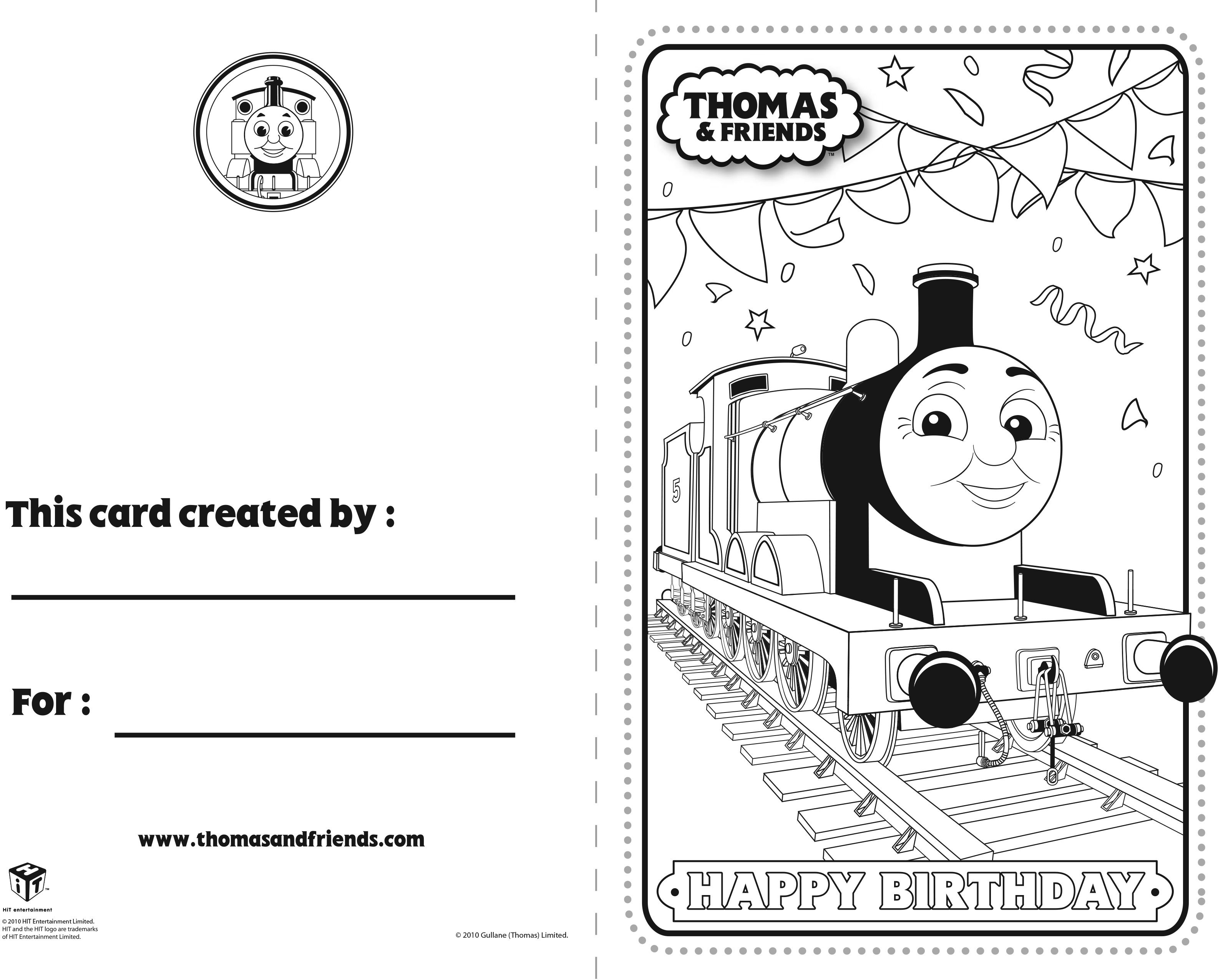 Thomas And Friends Birthday Card James Thomasandfriends Thomasthetankengine Birthdaycard Thomas And Friends Cards For Friends Birthday Cards For Friends