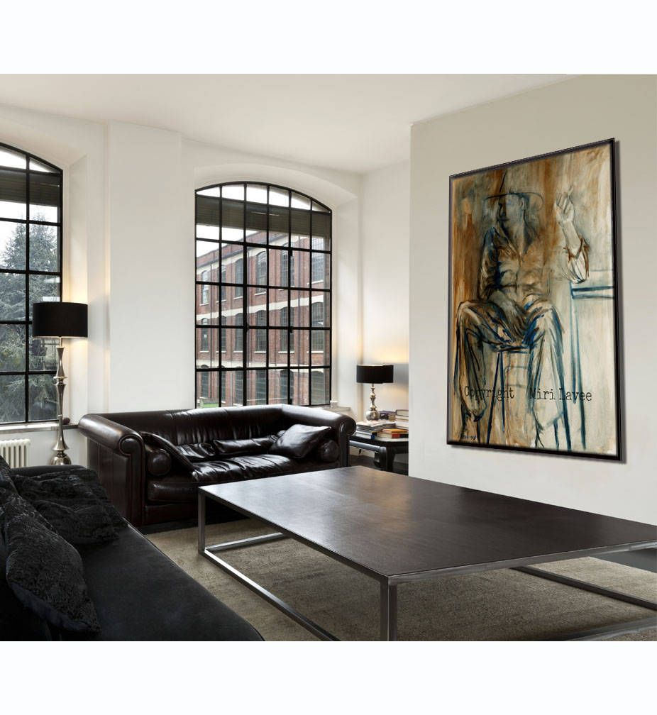 when a canvas art creates a strong manly environment an on large wall art id=23271