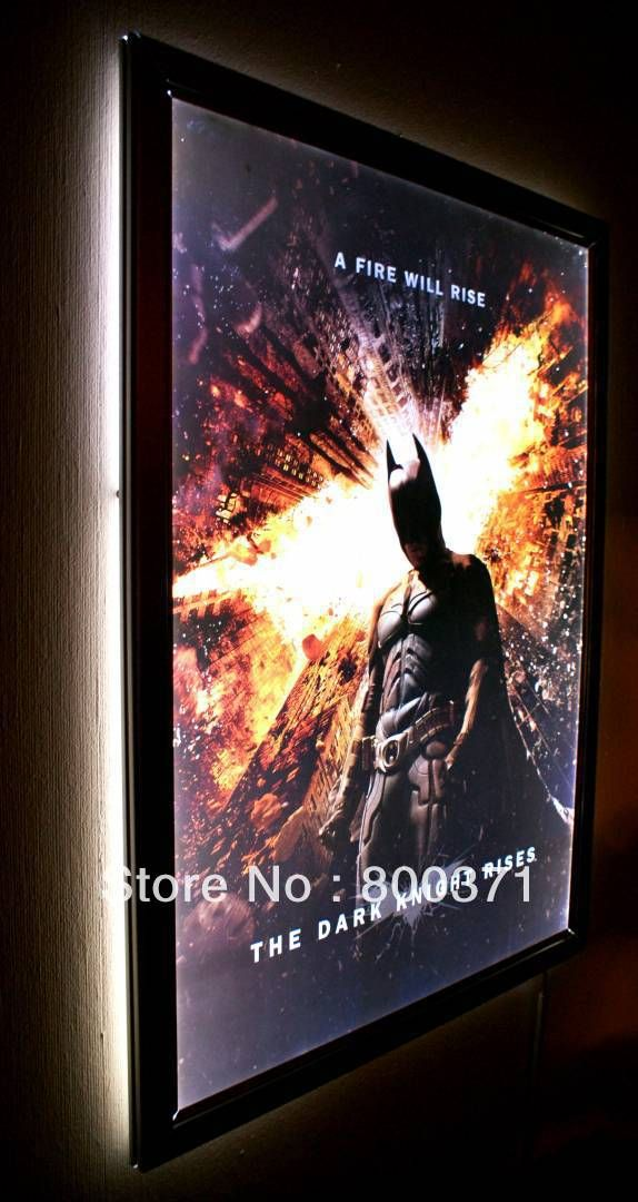 27 x40 movie poster light box display frame cinema lightbox decorate your theater us. Black Bedroom Furniture Sets. Home Design Ideas