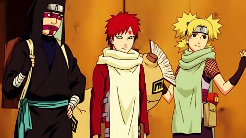 Gaara , Kankuro and Temari