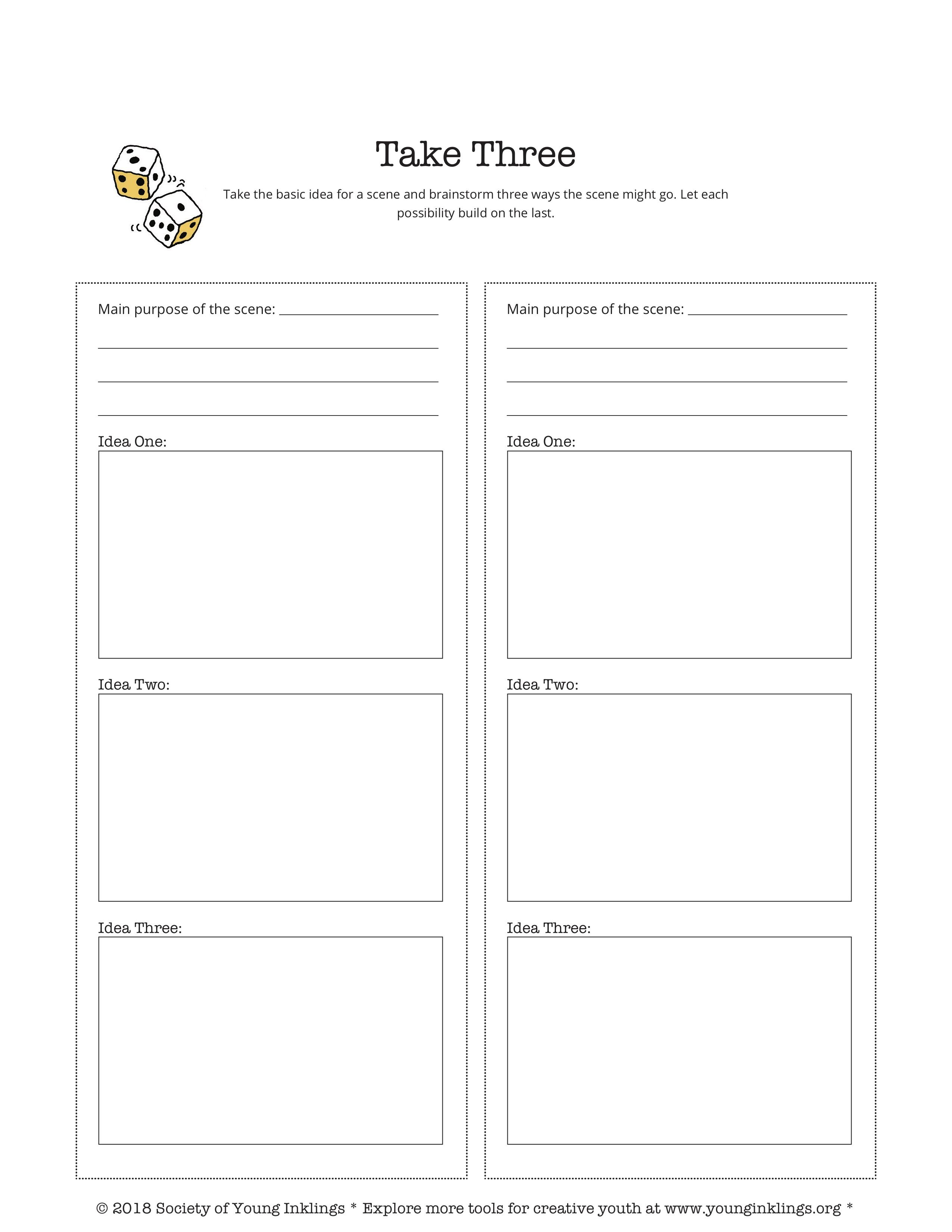 Brainstorming Mini Workshop With Free Printable With Images