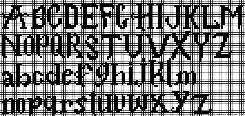 Alpha Bracelet Font Pattern Cross Stitch Letters Cross Stitch Alphabet Cross Stitch Harry Potter