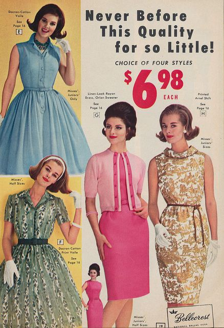 Never Before This Quality For So Little Fashion Vintage Dresses 60s Fashion