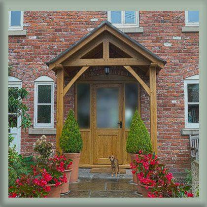 Oak Door Canopy Google Search Porches Pinterest