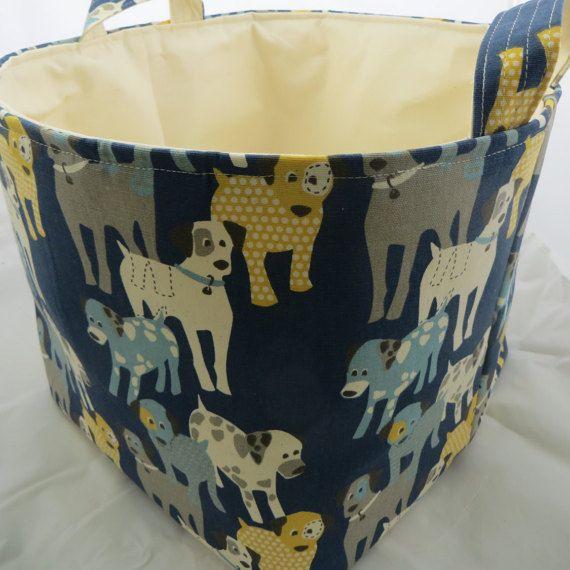 Fabric Organizer Storage Bin Container Basket by DivasIntuition