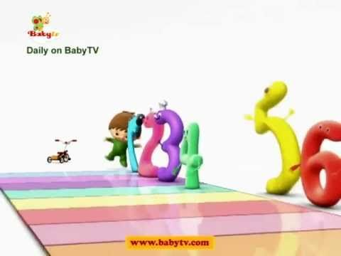 Charlie & the Numbers - The Numbers Song! - by BabyTV | MORE