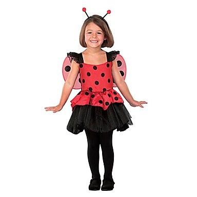 kid 39 s insect red bitty bug halloween costumes 2 4 yrs. Black Bedroom Furniture Sets. Home Design Ideas