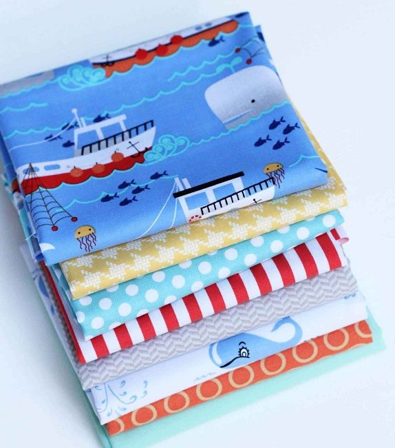 Thar She Blows Bundle  Everyday Fabrics