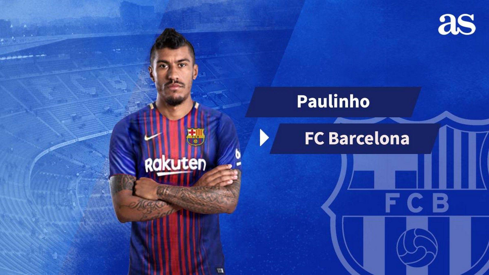 Barcelona Paulinho Wallpaper Best Wallpaper HD