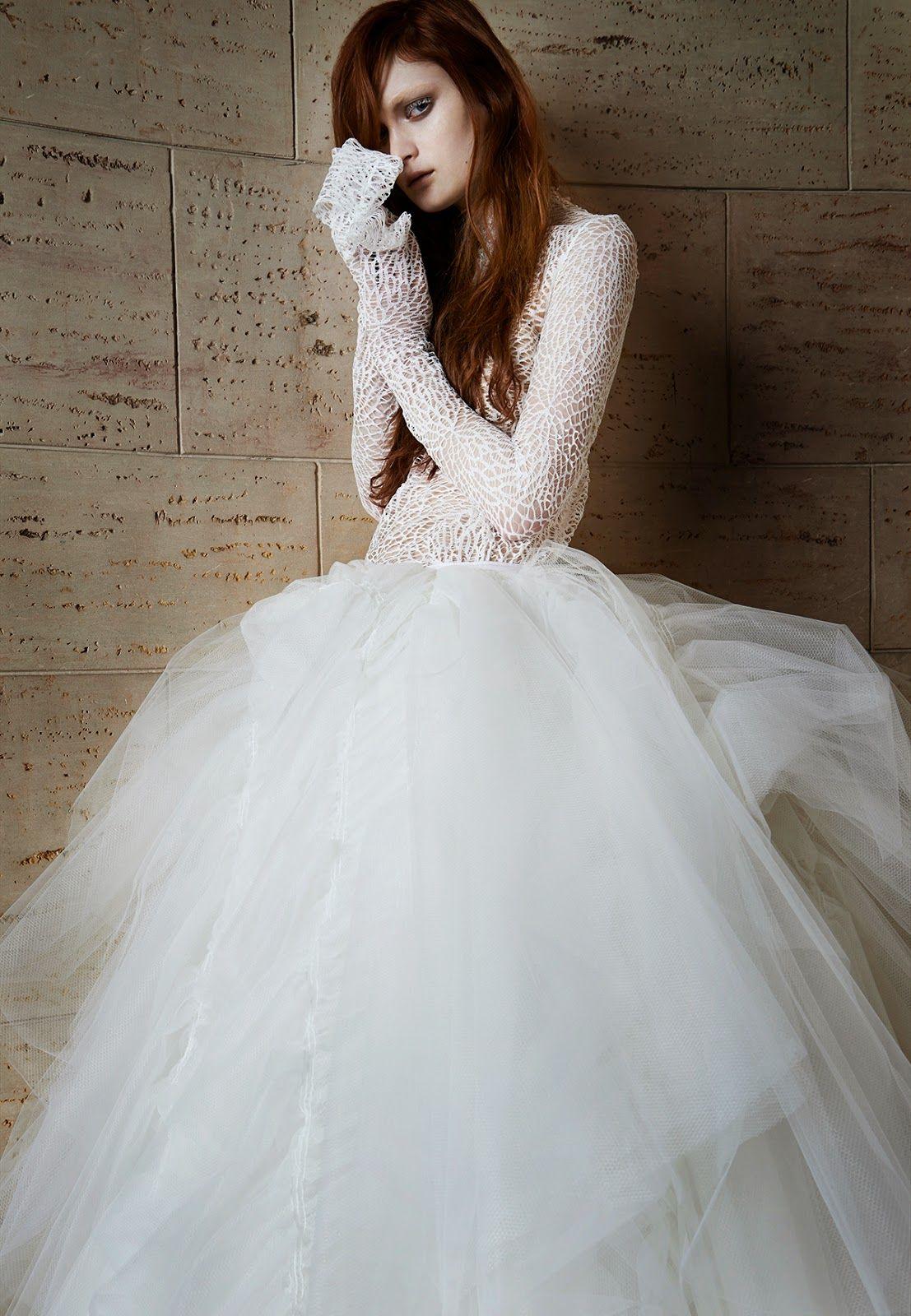 La nueva colección de vera wang vestidos boda ii pinterest