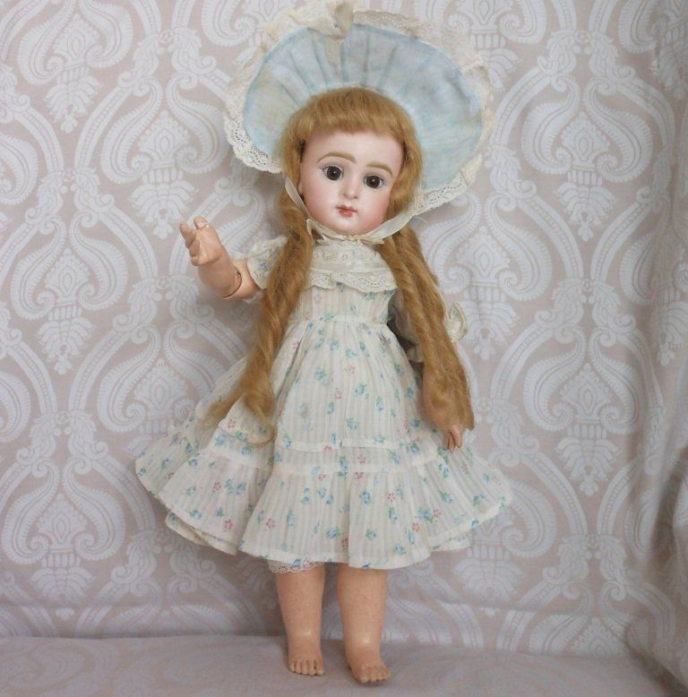 French Bisque Character Doll Paris Bebe by Jumeau