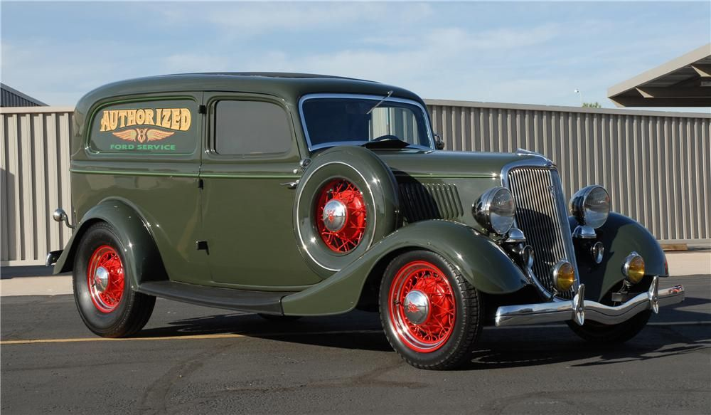 34 Ford Deluxe Sedan Delivery Panel Truck Cars Trucks Vintage Cars