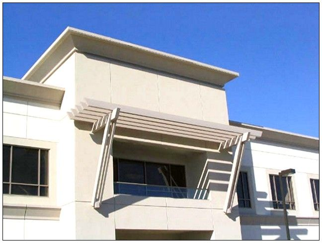 Modern Metal Awnings