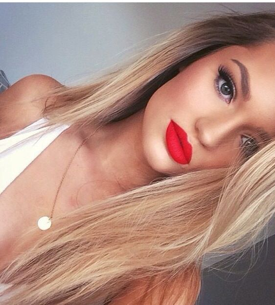 Eyes And Skin Red Lip Makeup Hair Makeup Perfect Red Lips
