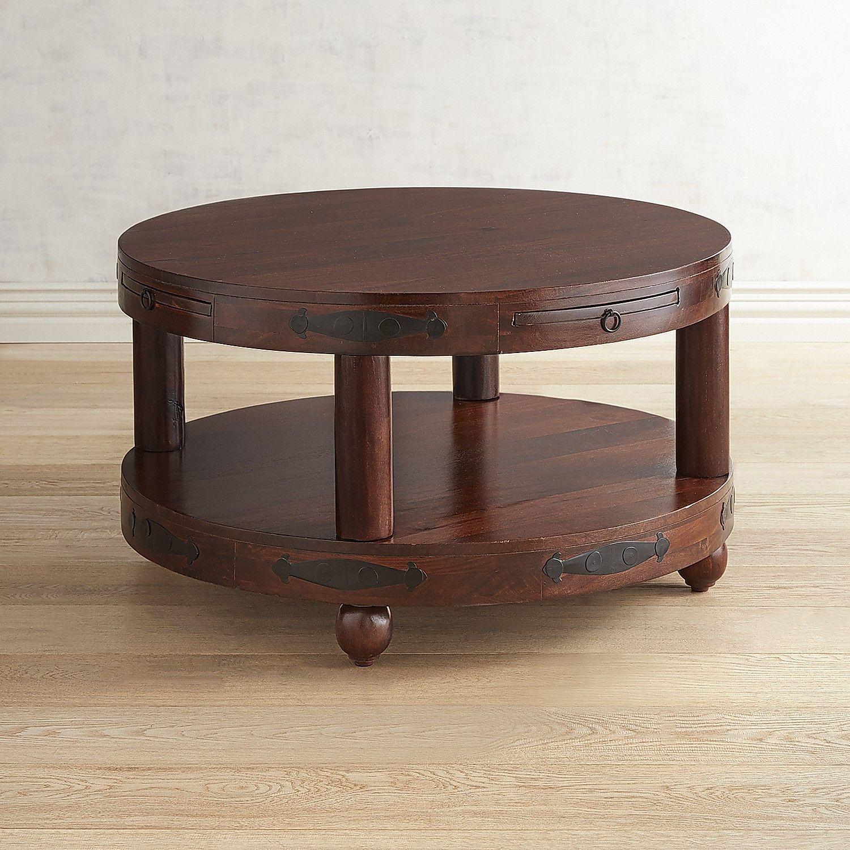 Ridgeway Round Coffee Table Round Glass Coffee Table Cool