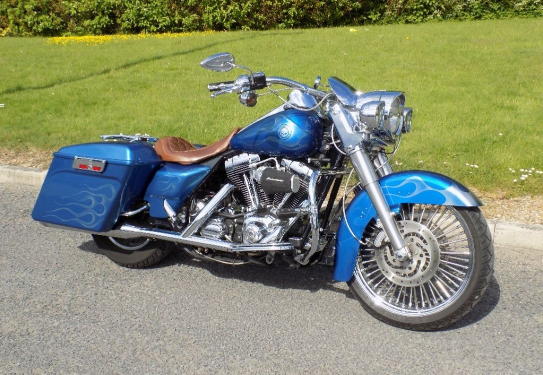 Harley Davidson Touring 1450 Flhrci Road King Classic Pj55pyy Harley Davidson Touring Used Bikes Road King Classic