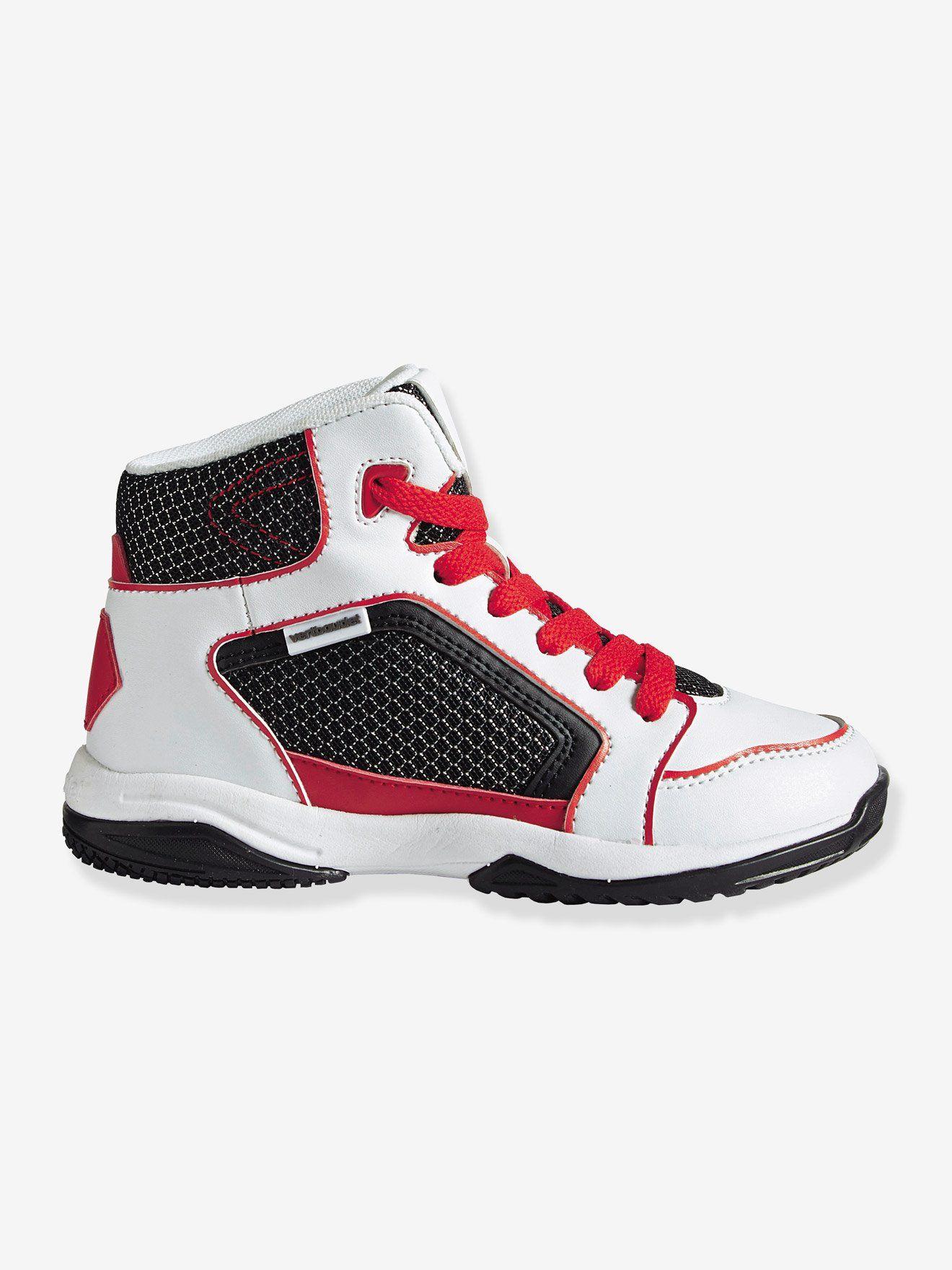Le NoirrougeShoes Pour Sport Basket Baskets Montantes 8POknw0X