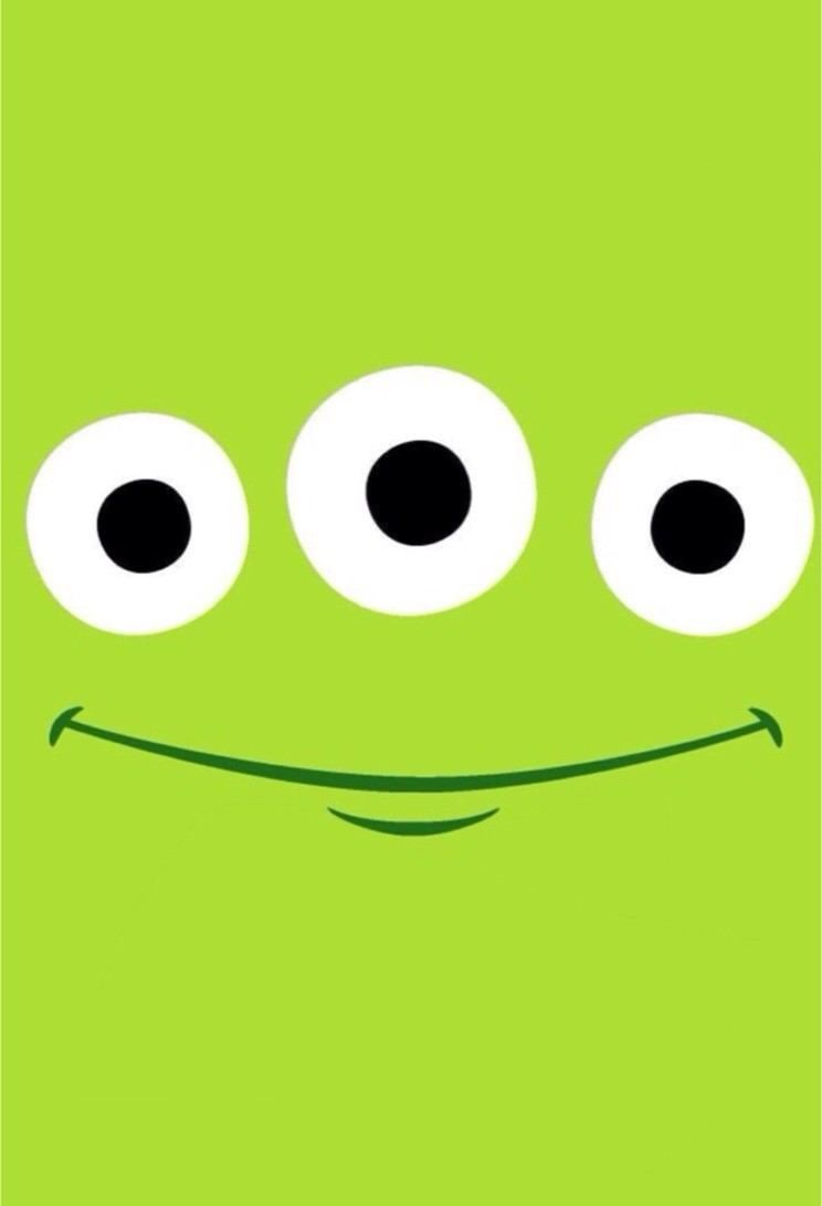 Cute Sweet Wallpapers For Phone Little Green Men The Room Full Of Friends Toy Story